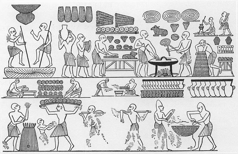 Ancient Egyptian Bakers